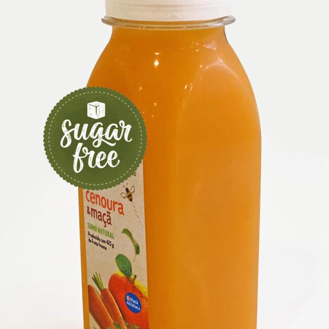 Sumo 100% Natural - Cenoura e Maçã